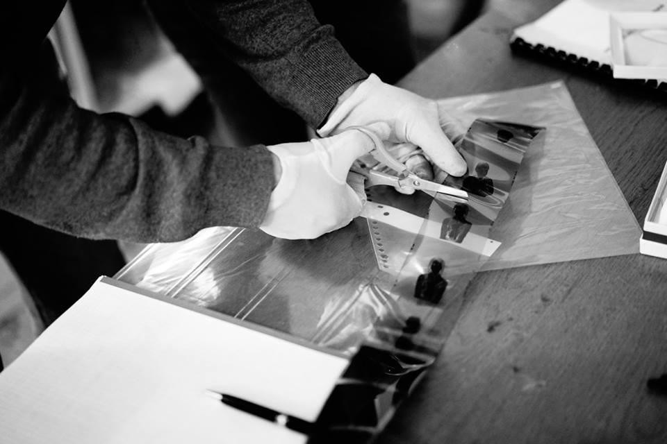 Rubén Morales fotógrafo taller fotografía blanco y negro laboratorio